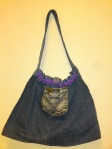 Demin Shoulder Bag - R50.00